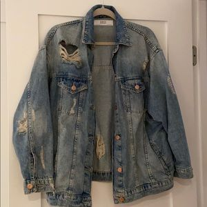 Zara Boyfriend Denim Jacket